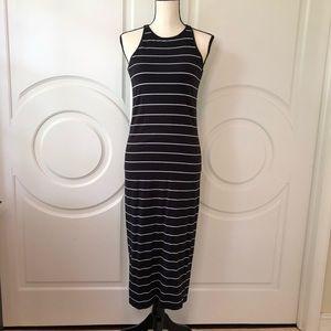 Athleta Sunkissed Midi Bodycon Sleeveless Dress